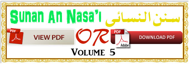 Sunan-An-Nasai-volume-5